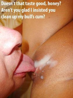 Clean it up bitch