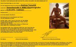 Vollmacht über Andreas Tomschik