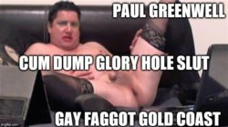 Cum dump Paul Greenwell exposed as a real name sissy slut