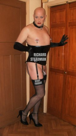 EXPOSED SISSY FAGGOT RICHARD STEADMAN