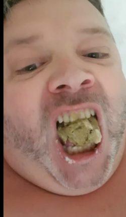 Turd eating fat tub of shit.