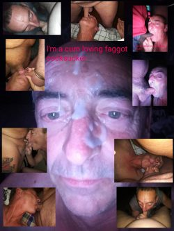 Faggot sucking cock
