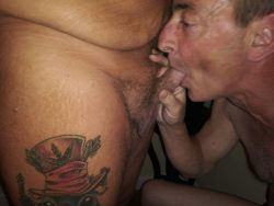 Faggot sucking cock