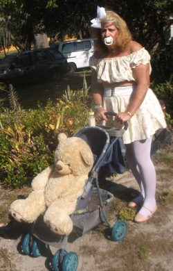 sissy little girl pansy lives permanently as a 3 year-old child and CRAVES to be Humiliated, Exp ...