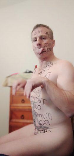 Exposed Loser and Tiny Dick Faggot Murray Chapman