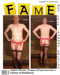 re-pin, repost, share. make this fag's fame permenant!