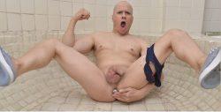 masturbating and with dildo
