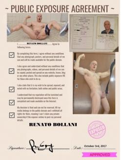 RENATO BOLLANI ALL EXPOSED