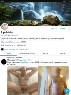 French loser on Twitter @lopefabien