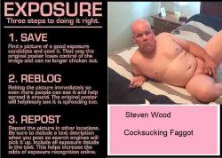 repin & expose this fag