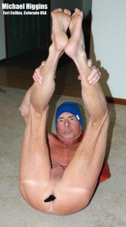 Naked fag Michael Higgins exposed