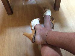 Lecteur pieds et chaussures