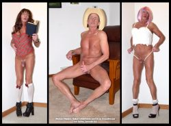 Exhibitionist and sissy Michael Higgins exposed