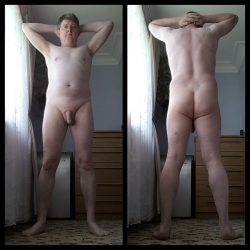 Exposed fully naked – front & rear