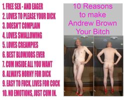 Andrew Brown – Use me and call me your Bitch