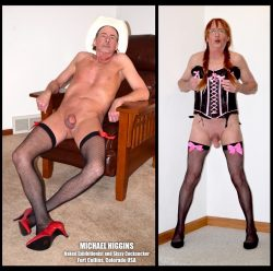 Sissy Michael Higgins exposure and humiliation