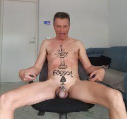 Fagot wants to taste of cum