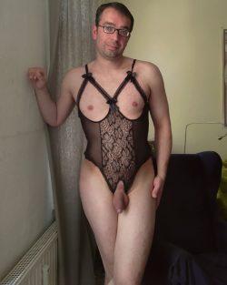 Sissy Fag Malte exposed in embarressing dress