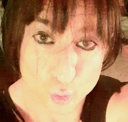 Me…Exposing my sissy slutty face…