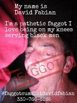 I love being on my knees serving black men