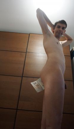 Passport in ass