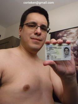 Matthew Lambert's ID