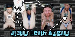 Justin Keith Anglin: Exposed Faggot