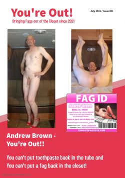 Andrew Brown – Exposed Faggot – OUT!