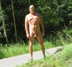 proud to be naked and locked in public