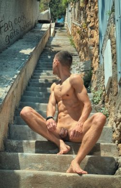 naked and locked