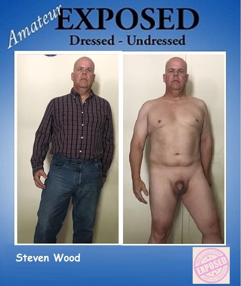 Steven Wood exposed Dressed/Undressed
