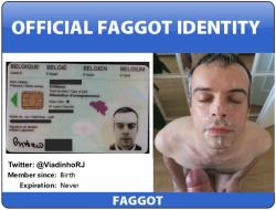 Exposed faggot Cristiano