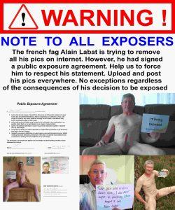 Alain Labat must respect his exposure agreement