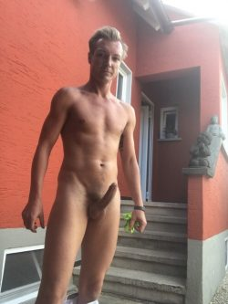 Martin Neumaier aka Germanslutfag is a unashamed exhibitionist from Aalen in southern Germany