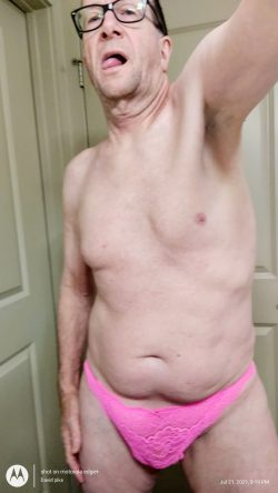 David pike in wife's panties