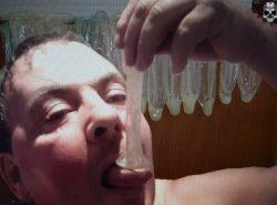 Love used condoms