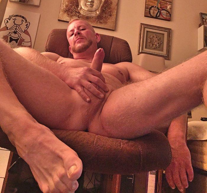 Dick showing Faggot