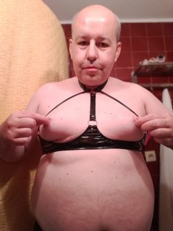 Pavel – sissy faggot with big boobs – 2