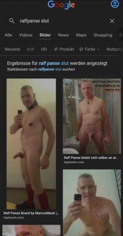 Internet slut on Google Ralf Panse