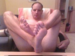 Lick my feet!