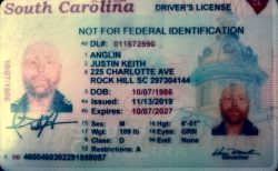 Faggot: Justin Keith Anglin 225 Charlotte Ave Rock Hill, SC 29730.