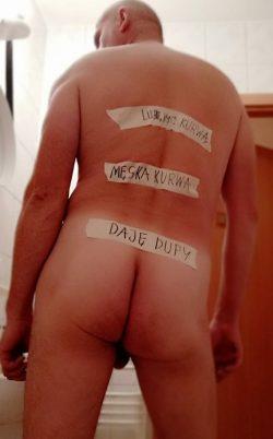 I like being a whore A man's whore I give it a fuck