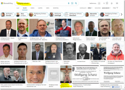 getting scary – bing search for just name Wolfgang Schanz