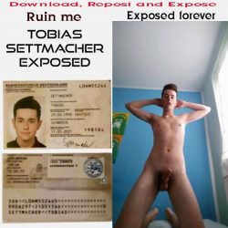 Young Loser Tobias Settmacher exposed