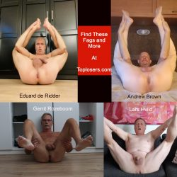 """Why is it called """"Top Losers"""" when these four are clearly bottoms? Eduard de Ridder, ..."""