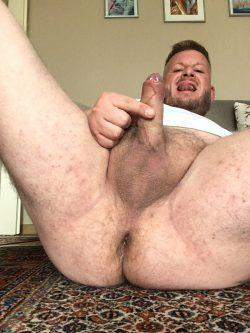 My sweaty haity dick, balls and asshole