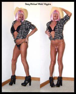 Sissy cowgurl Michael Higgins